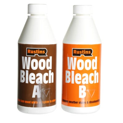 Rustins Wood Bleach Set