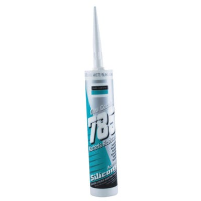 Dow 785+ Sanitary Silicone Sealant White 310ml