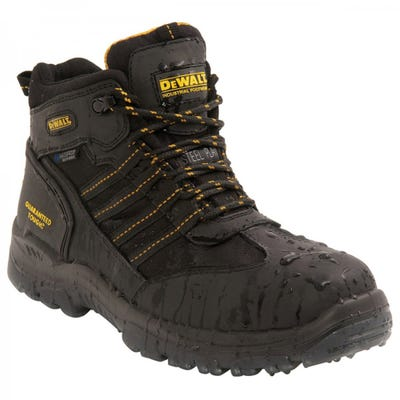 DeWalt Nickel S3 Safety Boots Black Size 8