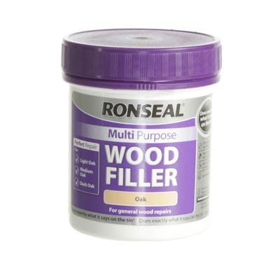 Ronseal Multi Purpose Wood Filler Tub 250g
