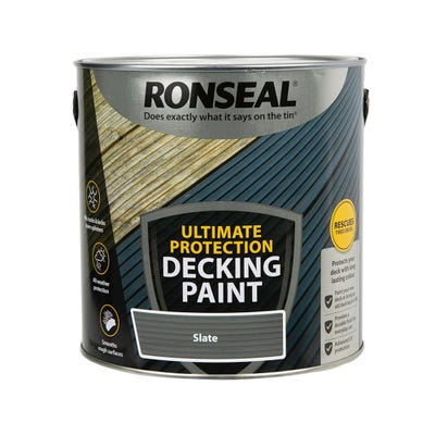 Ronseal Ultimate Decking Rescue Paint Slate 2.5L