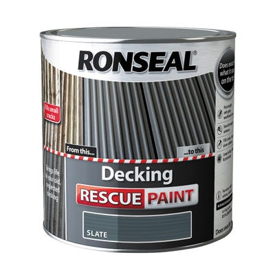 Ronseal Decking Rescue Paint Slate 2.5L