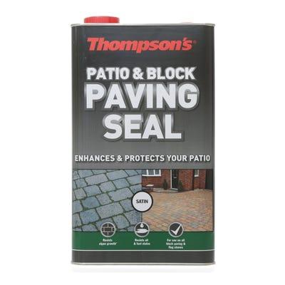 Thompson's Patio & Block Paving Seal Satin 5L