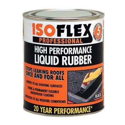 Isoflex Liquid Rubber Roof Compound Black 4.25L
