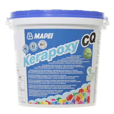 Mapei Kerapoxy CQ White (100) Two Part Epoxy Grout 3-10mm 3Kg