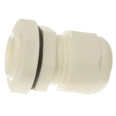 Stuffing Gland & Nut 20mm Pack of 10 White QCGM20WHT