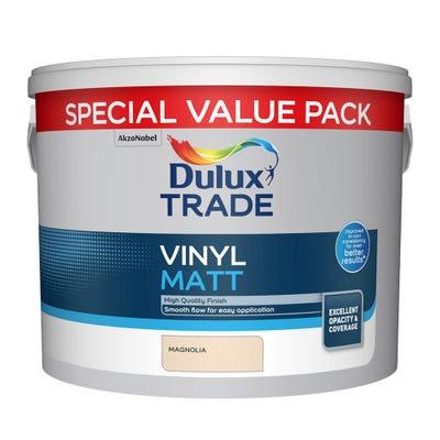 Dulux Trade Vinyl Matt Magnolia 7.5L