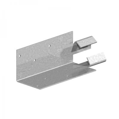 Mortice Arris Rail Brackets Pre Galvanised