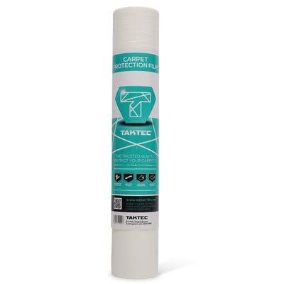 600mm Taktec Carpet Protection Film Roll 50m