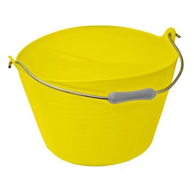 Gorilla Yellow 22L Tuff Bucket