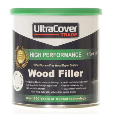 UltraCover Trade 2 Part High Performance Wood Filler