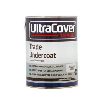 UltraCover Trade Undercoat Brilliant White 5L