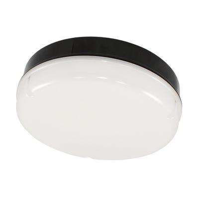 Maximo IP65 15W LED Emergency Bulkhead With White Base Daylight (5000K)