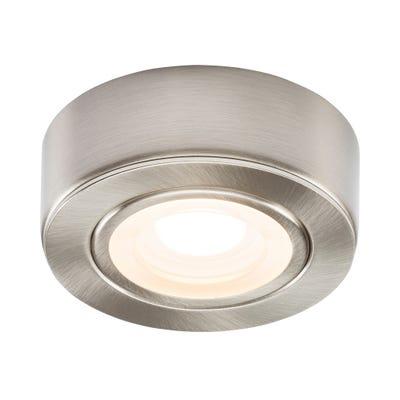 Knightsbridge LED Under Cabinet Light Brushed Chrome 3000K