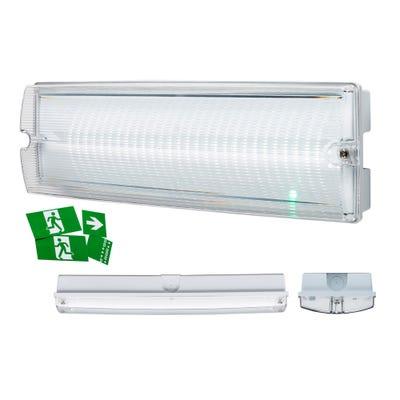 Knightsbridge IP65 4W LED Emergency Bulkhead