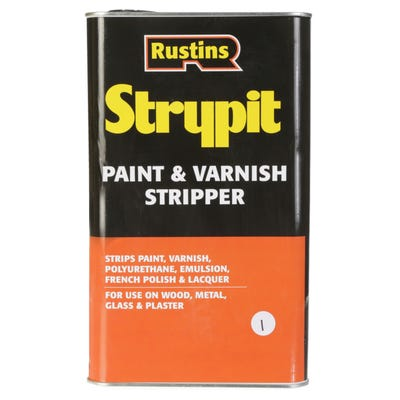 Rustins Strypit Paint Varnish Stripper 5L