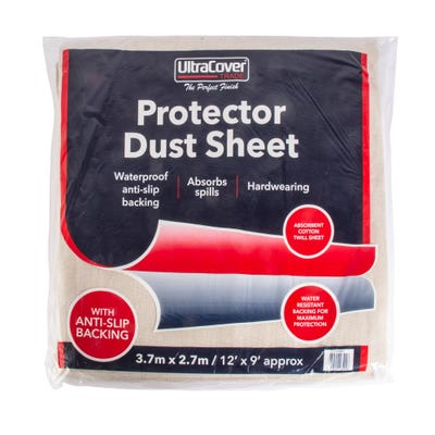 UltraCover Trade Protector Dust Sheet 12' x 9'