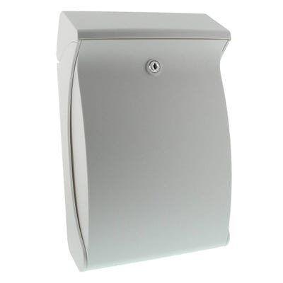 Sterling Swing Letterbox Mailbox in White