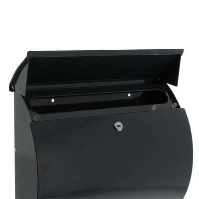 Sterling Toscana Letterbox Mailbox in Anthracite