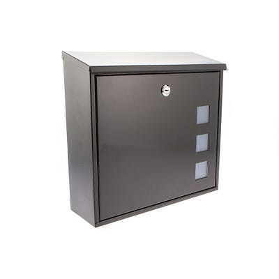 Sterling Aire Letterbox Mailbox in Black