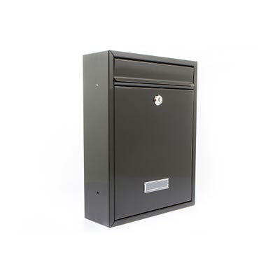 Sterling Trent Letterbox Mailbox in Black