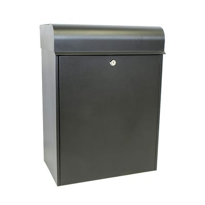 Sterling Heavy Duty Parcel Box in Black