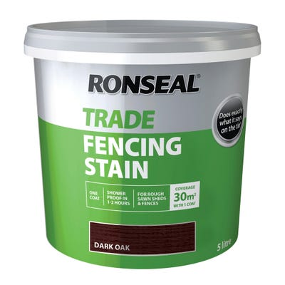 Ronseal Trade Fencing Stain 5L
