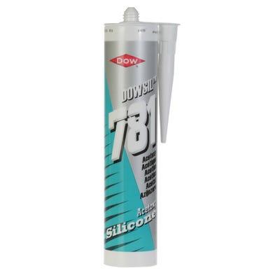 Dow 781 General Purpose Silicone Sealant White 310ml