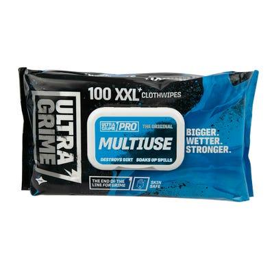 UltraGrime Wipes Pack of 100