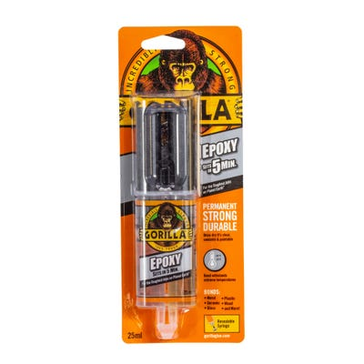 Gorilla Epoxy Syringe 25ml