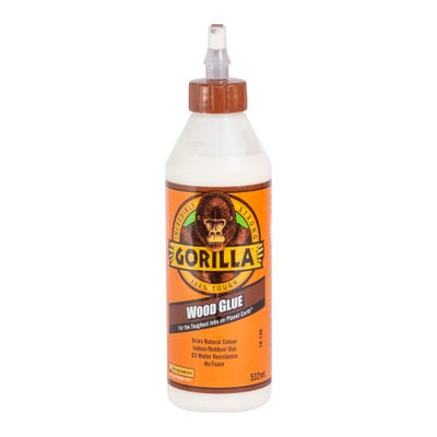 Gorilla PVA Wood Glue 532ml