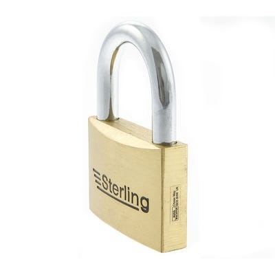Sterling Solid Brass 50mm Padlock (Double Locking)