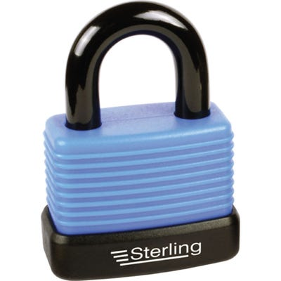 Sterling Weatherproof Padlock Aluminium 48mm (Double Locking)