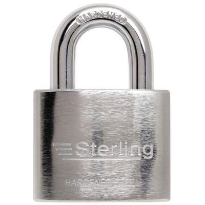 Sterling Hardened Steel Heavy Duty 50mm Padlock