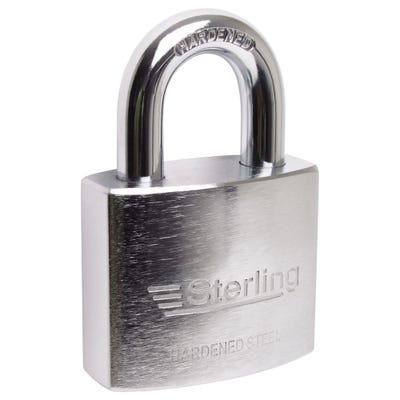 Sterling Hardened Steel Heavy Duty 60mm Padlock