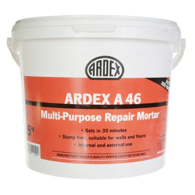 Ardex A46 Multi Purpose Repair Mortar 5Kg