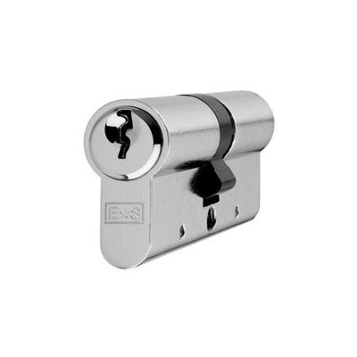 Eurospec Contract Euro Double Cylinder 80mm Nickel