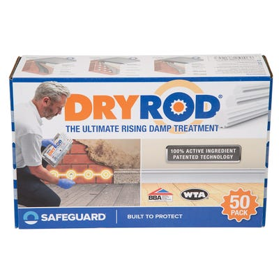 Dryrod Damp Proofing Rods Pack of 50