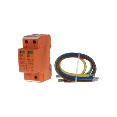FuseBox Consumer Unit T2 Surge Protection Device (Includes 3 Cables)