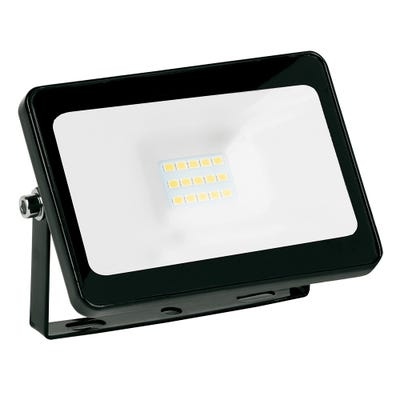 Aurora 10W LED Floodlight Cool White EN-FLH10BLK/40