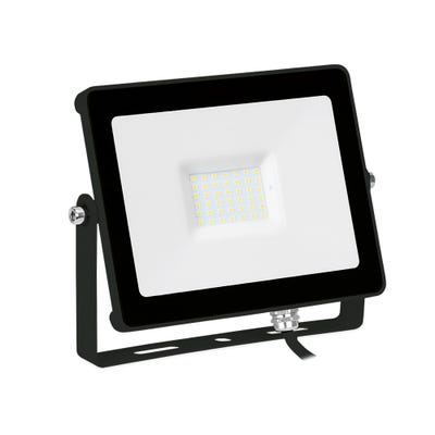 Aurora 20W LED Floodlight Cool White EN-FLH20BLK/40