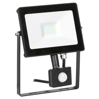 Aurora 20W LED PIR Floodlight Cool White EN-FLH20PBLK/40