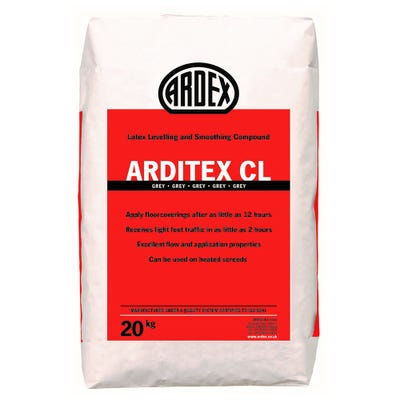 Ardex Arditex CL Powder Latex Smoothing Compound 20Kg