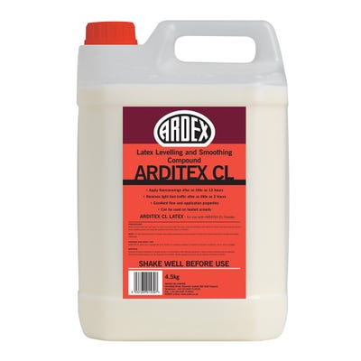 Ardex Arditex CL Liquid Latex Smoothing Compound 4.5Kg