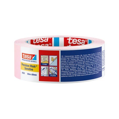 Tesa Precision Masking Tape Sensitive 38mm x 50m