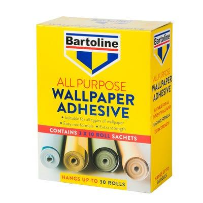 Bartoline All Purpose Wallpaper Adhesive 30 Rolls