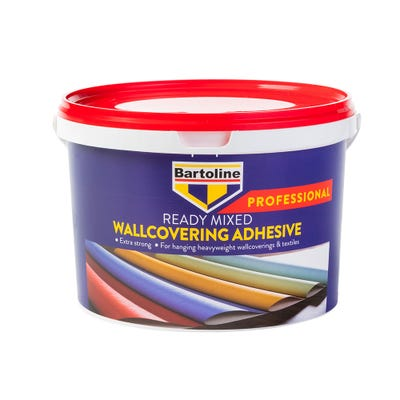 Bartoline Professional Ready Mixed Wallcovering Adhesive 2.5Kg