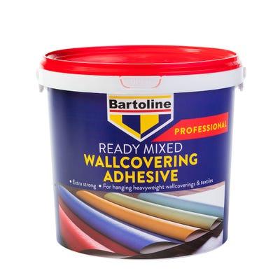 Bartoline Professional Ready Mixed Wallcovering Adhesive 5Kg