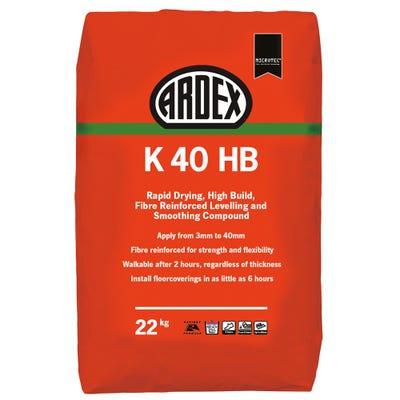 Ardex K 40 HB Fibre Reinforced Levelling Compound 22Kg