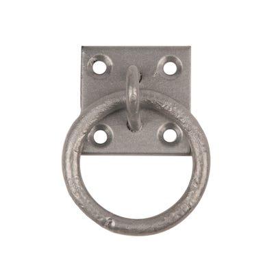 Sichern Ring On Plate 51 X 51mm Galvorite Each